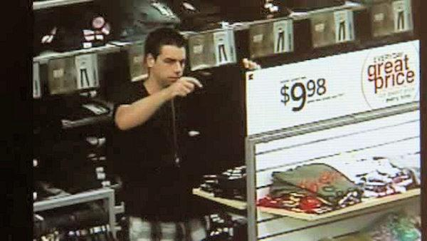 Police seek dancing shoplifter