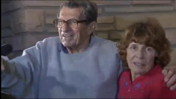 RAW: Joe Paterno responds to PSU students