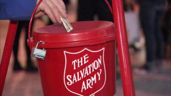 3 Salvation Army kettles stolen in NE Phila.