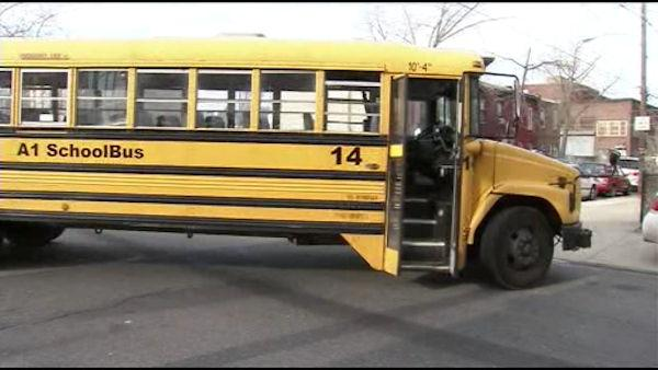 Phila. school bus stolen while driver at funeral