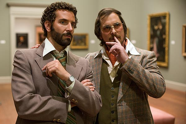 "<div class=""meta ""><span class=""caption-text "">BEST ACTOR NOMINEE: This film image released by Sony Pictures shows Bradley Cooper, left, and Christian Bale in a scene from ""American Hustle."" Bale was nominated for an Academy Award for best actor on Thursday, Jan. 16, 2014. The 86th Academy Awards will be held on March 2.(AP Photo/Sony - Columbia Pictures, Francois Duhamel)</span></div>"
