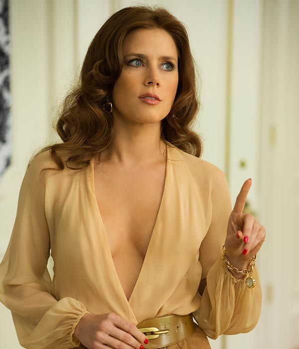 "BEST ACTRESS NOMINEE: This photo released by Sony Pictures shows Amy Adams as Sydney Prosser in Columbia Pictures' ""American Hustle."" Adams was nominated for an Academy Award for best actress on Thursday, Jan. 16, 2014. The 86th Academy Awards will be held on March 2. (AP Photo/Sony - Columbia Pictures, Francois Duhamel)"