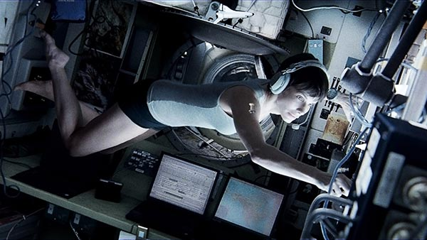 "BEST ACTRESS NOMINEE: This publicity photo released by courtesy of Warner Bros. Pictures shows Sandra Bullock, as Dr. Ryan Stone, in Warner Bros. Pictures' sci-fi thriller ""Gravity,"" a Warner Bros. Pictures release. Bullock was nominated for an Academy Award for best actress on Thursday, Jan. 16, 2014. The 86th Academy Awards will be held on March 2. (AP Photo/Courtesy Warner Bros. Pictures)"