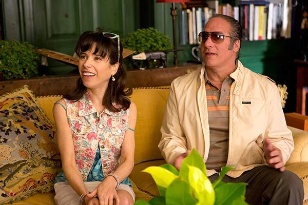 "BEST SUPPORTING ACTRESS NOMINEE: In this film image released by Sony Pictures Classics shows Sally Hawkins, left, and Andrew Dice Clay in a scene from the Woody Allen film, ""Blue Jasmine."" Hawkins was nominated for an Academy Award for best supporting actress on Thursday, Jan. 16, 2014. The 86th Academy Awards will be held on March 2. (AP Photo/Sony Pictures Classics)"
