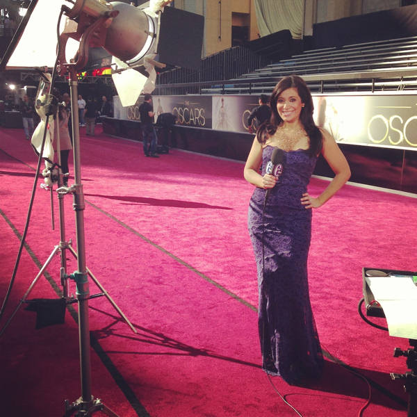 Action News' Alicia Vitarelli was behind the scenes with all the glitz and glamour of the 2013 Oscars!