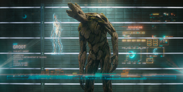 Vin Diesel stars as Groot in Marvel's Guardians of the Galaxy