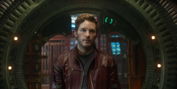 Chris Pratt stars as Peter Quill / Star-Lord in Marvel's Guardians of the Galaxy
