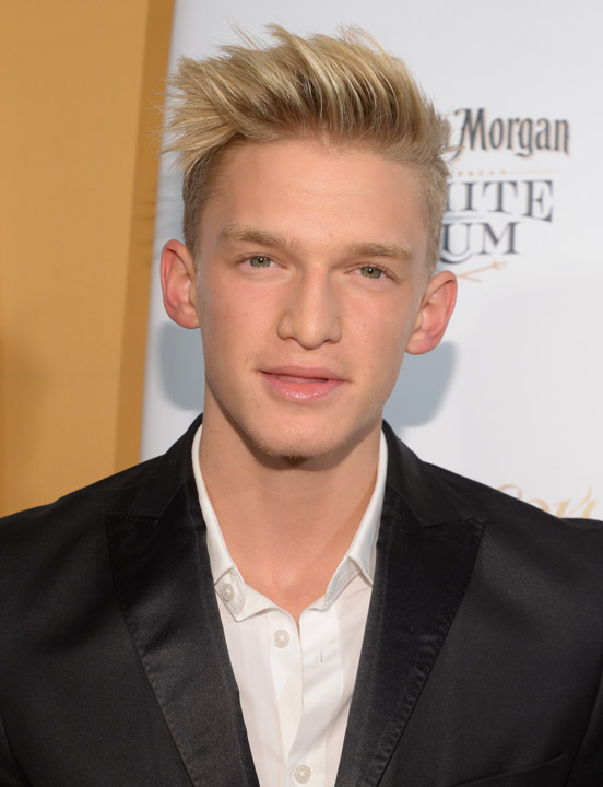 "<div class=""meta ""><span class=""caption-text "">Singer Cody Simpson attends the 2014 Sports Illustrated Swimsuit 50th Anniversary Issue kick off event at Swimsuit Beach House on Tuesday, Feb. 18, 2014 in New York. (Photo by Evan Agostini/Invision/AP)       (Rumor: Hollywood Life)</span></div>"