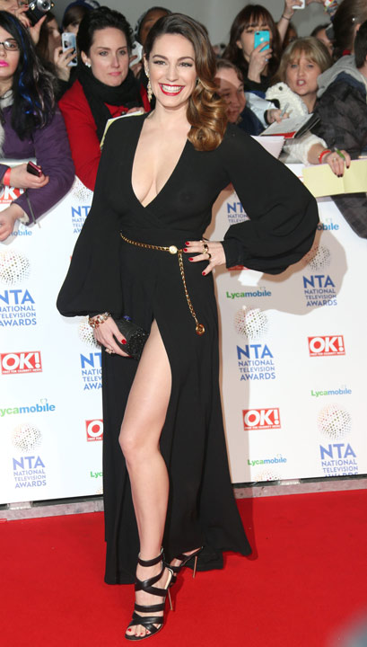 TV Personality Kelly Brook poses for photographers at the National Television Awards, held at the O2 Arena, London, on Wednesday, January 22, 2014. &#40;Photo by Joel Ryan&#47;Invision&#47;AP&#41;        <span class=meta>(Rumor: Hollywood Life)</span>