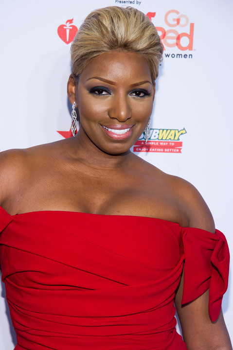 NeNe Leakes wearing Black Halo Eve attends the Heart Truth Red Dress Collection fashion show on Thursday, Feb. 6, 2014 in New York. &#40;Photo by Charles Sykes&#47;Invision&#47;AP&#41;   <span class=meta>(Rumor: E! Online)</span>