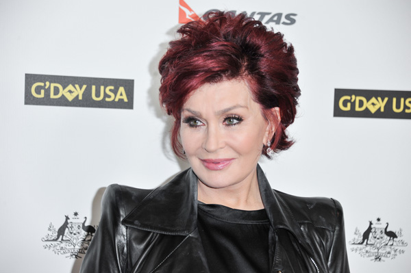 Sharon Osbourne arrives at the 2014 G&#39;Day USA Los Angeles Black Tie Gala on Saturday, Jan. 11, 2014 in Los Angeles. &#40;Photo by Richard Shotwell&#47;Invision&#47;AP&#41;          <span class=meta>(Rumor: Hollywood Life)</span>