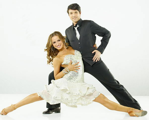 "<div class=""meta image-caption""><div class=""origin-logo origin-image ""><span></span></div><span class=""caption-text"">Ralph Macchio and Karina Smirnoff will be dancing together in season 12 of ""Dancing with the Stars"" premiering March 21 on ABC. (ABC Photo/ ABC - TV)</span></div>"
