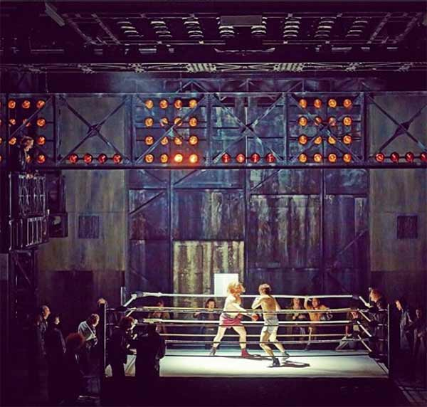 "<div class=""meta ""><span class=""caption-text "">'Rocky' a new musical about the rise and romance of Philadelphia boxer Rocky Balboa opens on Broadway on Thursday, March 13th. Find out more at http://www.rockybroadway.com/.</span></div>"