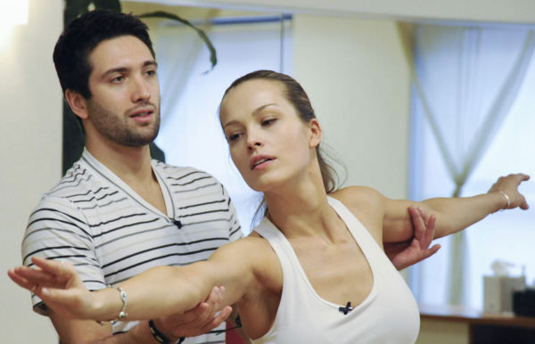 "<div class=""meta ""><span class=""caption-text "">Model Petra Nemcova and professional dancer Dmitry Chaplin prepare for their first performance in season 12 of ""Dancing with the Stars"" on Monday, March 21. (Photo/ABC-TV)</span></div>"