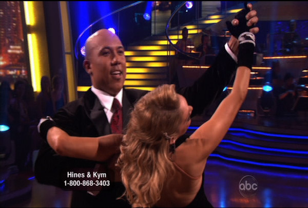 "<div class=""meta ""><span class=""caption-text "">Hines Ward & Kym Johnson danced the Quickstep during Week 2 of Season 12 of Dancing with the Stars. They received a score of 23.</span></div>"