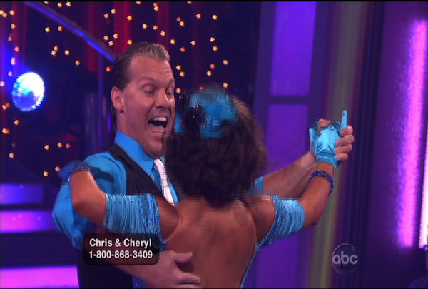 "<div class=""meta ""><span class=""caption-text "">Chris Jericho & Cheryl Burke danced the Quickstep during Week 2 of Season 12 of Dancing with the Stars. They received a score of 23.</span></div>"