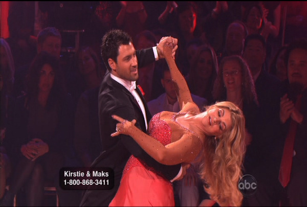 Kirstie Alley & Maksim Chmerkovskiy danced the Quickstep during Week 2 of Season 12 of Dancing with the Stars. They received a score of 20.