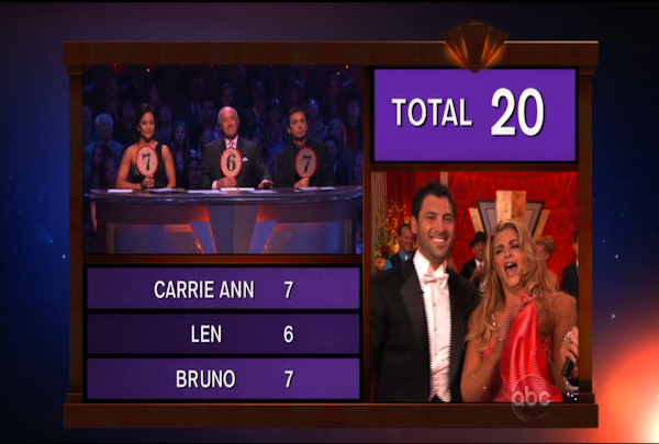 "<div class=""meta ""><span class=""caption-text "">Kirstie Alley & Maksim Chmerkovskiy danced the Quickstep during Week 2 of Season 12 of Dancing with the Stars. They received a score of 20.</span></div>"
