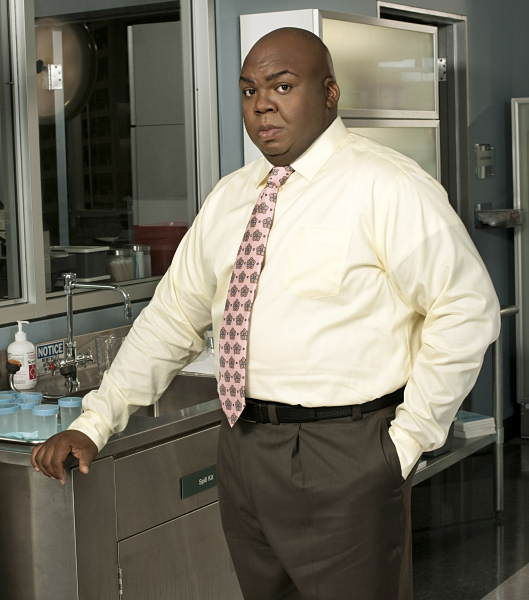 Windell D. Middlebrooks  plays the role of Deputy Chief Medical Examiner Dr. Curtis Brumfield. It is Megan to whom Curtis is constantly trying to prove his medical chops.  <span class=meta>(ABC Television)</span>