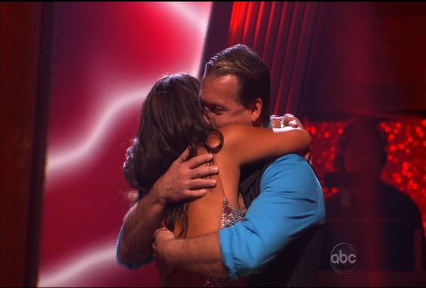 "<div class=""meta image-caption""><div class=""origin-logo origin-image ""><span></span></div><span class=""caption-text"">Chris Jericho & Cheryl Burke were told they were safe during the ""Dancing With The Stars Result Show"" on March 29, 2011.</span></div>"