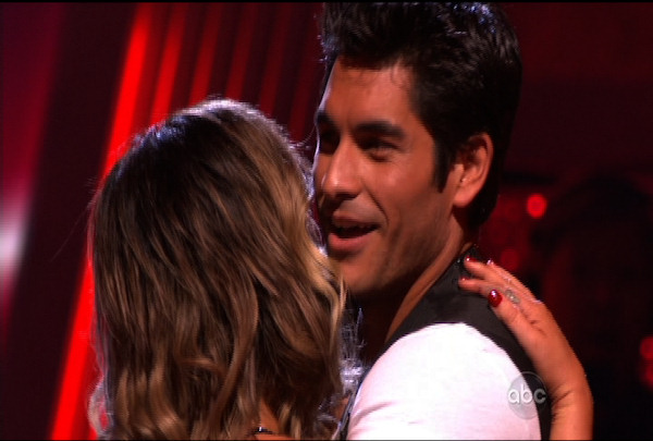 "<div class=""meta ""><span class=""caption-text "">Mike Catherwood & Lacey Schwimmer were the first ones voted off of ""Dancing with the Stars"" Season 12. </span></div>"