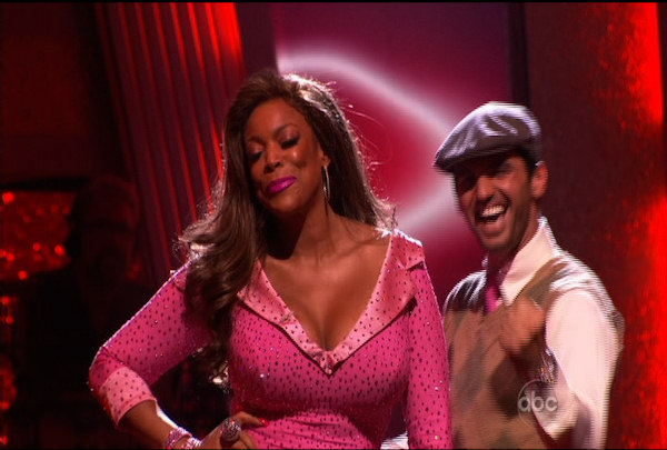 "<div class=""meta ""><span class=""caption-text "">Wendy Williams & Tony Dovolani were told they were safe during the ""Dancing With The Stars Result Show"" on March 29, 2011.</span></div>"