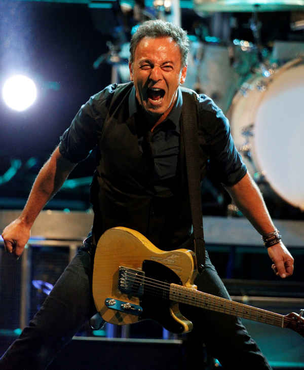 Bruce Springsteen and the E Street Band perform during the Wrecking Ball tour at the Wells Fargo Center Wednesday, March 28, 2012 in Philadelphia. <span class=meta>(AP Photo&#47;Alex Brandon)</span>