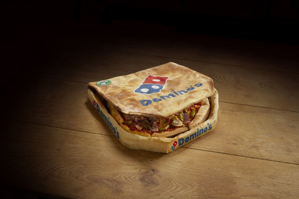 "<div class=""meta ""><span class=""caption-text "">Domino's: The Edibox    ""So here's the story behind the box: we found out recently, through conducting customer surveys, that the crust is overwhelmingly the most popular part of the pizza experience, and also that the majority of Domino's devotees crave extra crust once they've finished their meal. These findings, along with our love of surprising people and pushing boundaries, led us to the Edibox. With every future Domino's delivery, you'll see the Edibox upgrade option: double the dough to enjoy alongside double the glorious garlic and herb dip. And the best bit? You won't have to fight to fit that square box into a round bin ? this is a waste-free dining experience."" - Domino's     </span></div>"