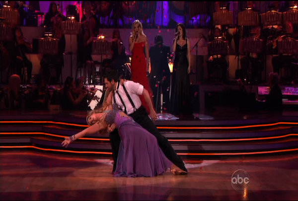 Kirstie Alley & Maksim Chmerkovskiy danced the Waltz during Week 4 of Season 12 of Dancing with the Stars. They received a score of 22.