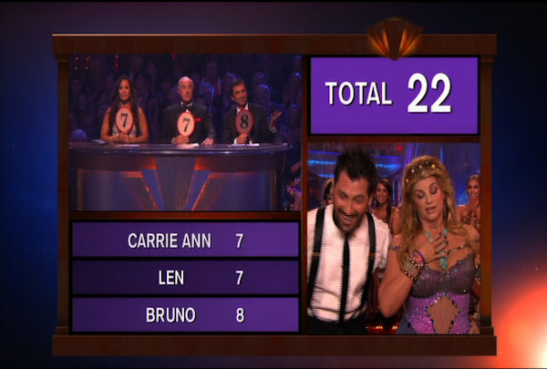 "<div class=""meta image-caption""><div class=""origin-logo origin-image ""><span></span></div><span class=""caption-text"">Kirstie Alley & Maksim Chmerkovskiy danced the Waltz during Week 4 of Season 12 of Dancing with the Stars. They received a score of 22. </span></div>"