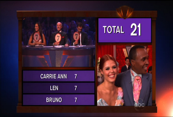 "<div class=""meta ""><span class=""caption-text "">Sugar Ray Leonard & Anna Trebunskaya danced the Viennese Waltz during Week 4 of Season 12 of Dancing with the Stars. They received a score of 21. </span></div>"