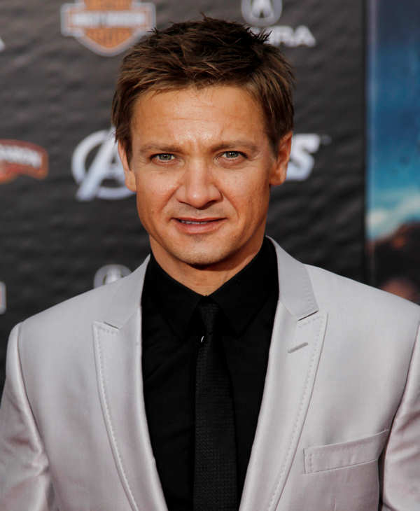 Cast member Jeremy Renner arrives at the premiere of &#34;The Avengers&#34; in Los Angeles, Wednesday, April 11, 2012. &#34;The Avengers&#34; will be released in theaters May 4, 2012.  <span class=meta>(AP Photo&#47;Matt Sayles)</span>