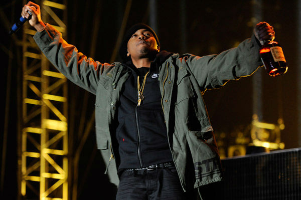 Rapper Nas performs at the 2014 Coachella Music and Arts Festival on Saturday, April 12, 2014, in Indio, Calif. &#40;Photo by Chris Pizzello&#47;Invision&#47;AP&#41; <span class=meta>(AP Photo&#47; Chris Pizzello)</span>