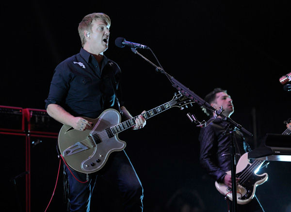 Josh Homme of Queens of the Stone Age performs at the 2014 Coachella Music and Arts Festival on Saturday, April 12, 2014, in Indio, Calif. &#40;Photo by Chris Pizzello&#47;Invision&#47;AP&#41; <span class=meta>(AP Photo&#47; Chris Pizzello)</span>