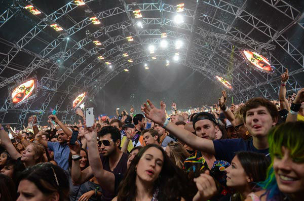 General atmosphere at the 2014 Coachella Music and Arts Festival on Saturday, April 12, 2014, in Indio, Calif. &#40;Photo by Scott Roth&#47;Invision&#47;AP&#41; <span class=meta>(AP Photo&#47; Scott Roth)</span>
