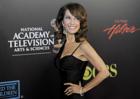 "<div class=""meta ""><span class=""caption-text "">Susan Lucci who plays Erica Kane arrives at the 37th Annual Daytime Emmy Awards on Sunday, June 27, 2010, in Las Vegas. (AP Photo/Chris Pizzello)</span></div>"