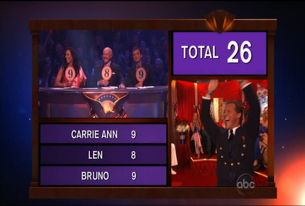 Chris Jericho & Cheryl Burke danced the Viennese Waltz during Week 5 of the Dancing wih the Stars Season 12. They received a score of 26.