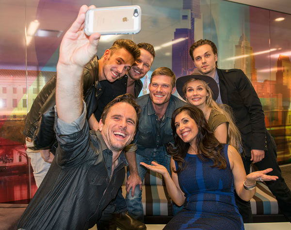 The stars of the ABC hit drama 'Nashville' stopped by the 6abc studios!