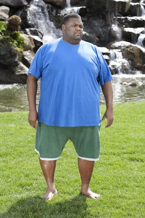 "<div class=""meta ""><span class=""caption-text "">EXTREME MAKEOVER: WEIGHT LOSS EDITION - ""Dana"" - Dana, a 45 year-old bachelor from Franklin, Tennessee who has masked his emotional pain with food for over three decades, weighs in at 498 pounds. When trainer and transformation specialist Chris Powell surprises Dana at his water aerobics class, Dana is overcome with joy at the chance to reclaim his life. Once his weight loss journey begins, he starts to see changes in his life as well as his waistline. But when the progress mysteriously stops, Chris has an intense and emotional confrontation with Dana that leads to a revelation, on ""Extreme Makeover: Weight Loss Edition,"" MONDAY, JUNE 13 (10:01-11:00 p.m., ET) on the ABC Television Network. (ABC/GREG ZABILSKI) DANA </span></div>"