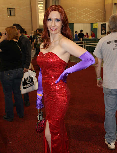 Jessica Rabbit isn't bad, she's just drawn that way.