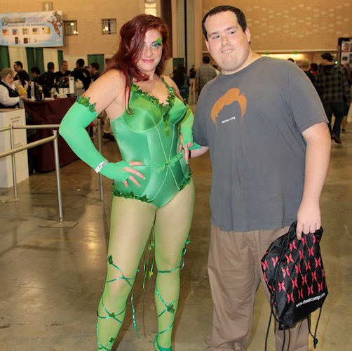 Someone looks pretty pleased with himself after meeting up with Poison Ivy. <span class=meta>(www.darcidoranphotography.com)</span>