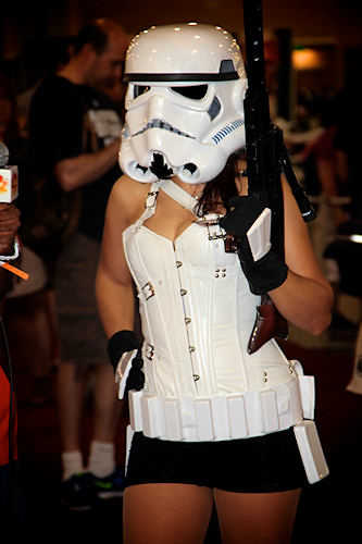 Women in combat is not a problem for the First Galactic Empire. <span class=meta>(www.darcidoranphotography.com)</span>
