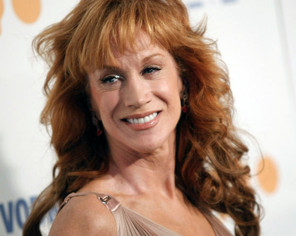"<div class=""meta ""><span class=""caption-text "">FILE - In this Saturday, April 18, 2009 file photo, comedienne Kathy Griffin arrives at the 20th Annual GLAAD Media Awards in Los Angeles  (AP Photo/Dan Steinberg, file)</span></div>"