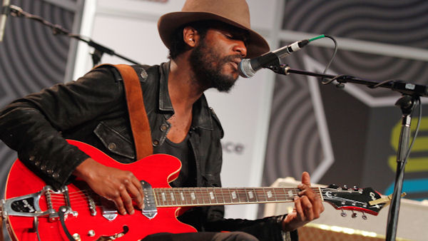 "<div class=""meta ""><span class=""caption-text "">Gary Clark, Jr. is one of the many artists taking the stage at the first Budweiser Made in America music festival. The two-day music festival will be stretched across three stages on the Benjamin Franklin Parkway in Philadelphia's Fairmount Park on Saturday, September 1, and Sunday, September 2. Gary Clark, Jr. performs during the SXSW Music Festival in Austin, Texas on Friday, March 16, 2012.(AP Photo/Jack Plunkett) </span></div>"
