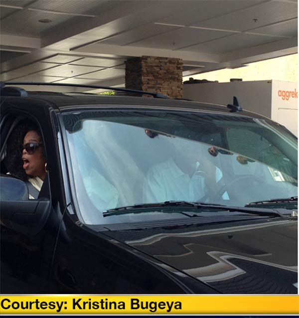 Oprah Winfrey was spotted at the Jersey Shore with beau Stedman Graham and pal Gayle King this Labor Day weekend.