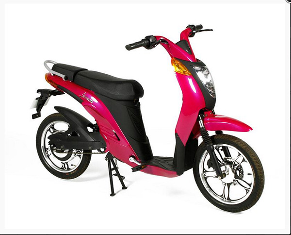 "<div class=""meta ""><span class=""caption-text "">Jetson electric bike in magenta, with electric motor, removable lithium ion battery, and pedals, autographed by Oprah Winfrey, 43"" h x 64"" l x 27 1/4"" w (at handlebars). Property of Oprah Winfrey. EST: $1,000 - $2,000 More Information: http://www.kaminskiauctions.com/the-oprah-winfrey-collection/ </span></div>"
