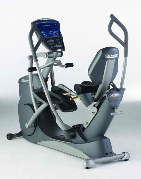 "<div class=""meta ""><span class=""caption-text "">Octane Fitness seated fitness elliptical, model XR6000, 55 1/2"" h x 67"" l x 35"" d. Property of Bob Greene. EST: $3,000 - $5,000 More Information: http://www.kaminskiauctions.com/the-oprah-winfrey-collection/ </span></div>"
