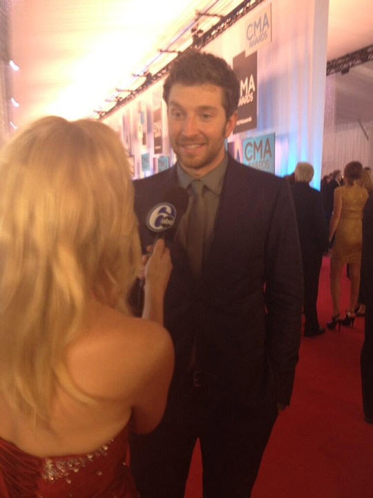 @bretteldredge up for new artist of the year! #6abccma  <span class=meta>(@karenrogers6abc)</span>