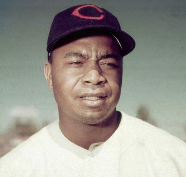 """<div class=""""meta image-caption""""><div class=""""origin-logo origin-image """"><span></span></div><span class=""""caption-text"""">Larry Doby grew up in New Jersey and became the pride of Paterson. A star high school athlete, Larry joined the Newark Eagles in the Negro Leagues at only 17. After two years of military service during World War II, he signed with the Cleveland Indians just 11 weeks after Jackie Robinson broke baseball?s color barrier with the Brooklyn Dodgers. As the American League?s first black player, Larry Doby endured bigotry and prejudice with class, becoming a seven-time All-Star, leading the Indians to a World Series title and finishing second in MVP voting in 1954. Later he would become only the second black manager in the Major Leagues. Widely respected as a talented athlete and manager, he had a profound influence on the game and was voted into the Baseball Hall of Fame in 1998. Today?s induction into the New Jersey Hall of Fame shines a well deserved spotlight on a role model for the ages (Photo/AP Photo)</span></div>"""