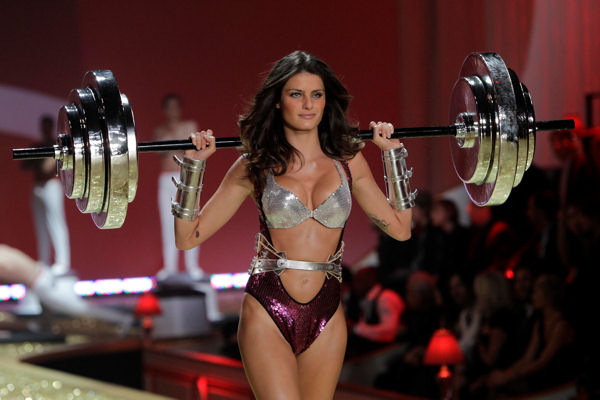 "<div class=""meta image-caption""><div class=""origin-logo origin-image ""><span></span></div><span class=""caption-text"">A model wears clothes from Victoria's Secret during a fashion show in New York, Wednesday, Nov. 10, 2010.  (AP Photo/Seth Wenig)</span></div>"